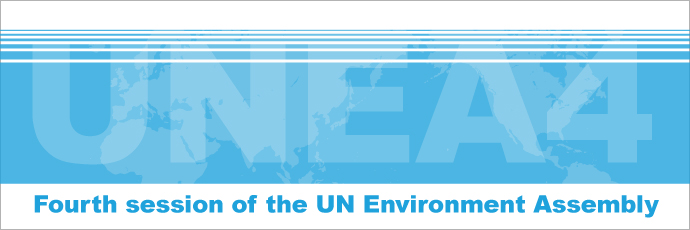 Fourth session of the UN Environment Assembly | UNEA4